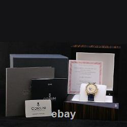 Corum Lunar Pegasus Limited Edition 499 Pièces 18 Kt Or 40 MM Nouvelle Boîte & Papiers