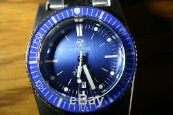 Crepas L'ocean Diver 1200m Automatique Édition Limitée Seulement 313 Pièces