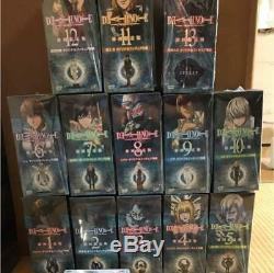 Death Note DVD First Press Edition Limitée Original Figure 13 Pièces Ensemble Japon
