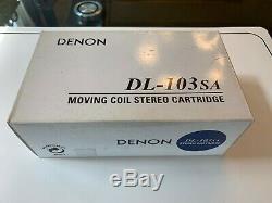 Denon Dl-103sa MC Cartouche Phono Limited Edition 2000 Pièces Réalisées