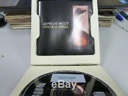 Depeche Mode Speak & Magie 1981 Mega Rare Top Box Limited Numérotée CD