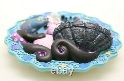 Disney Little Mermaid Limited Edition 3d Plate Ursulas Spell 0817/5000