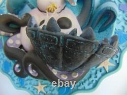 Disney Little Sirmaid Edition Limitée Plaque 3d Ursulas Spell 0740/15000
