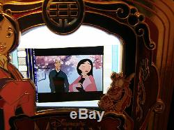 Disney Piece Of Films Pin Mulan Limited Edition Père Fa Zhou Cerise Le 2000