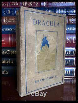 Dracula De Bram Stoker Hardback 1899 1ère Édition Us Première Impression D'histoire Piece
