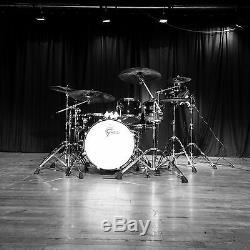 Drums Gretsch Black Hawk Édition Limitée Black 6 Pièces Coquilles D'acajou