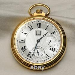Dunhill Centenary Pocket Watch Limited Edition Of 25 Pieces In 18k Yellow Cir