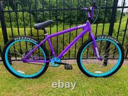 Eastern Big Reaper 26 Ltd Vélo Freestyle Bmx Bike 3 Pièces Cran Violet Nouveau