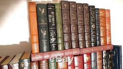 Easton Press Leather Book Collection Lot Ltd, 1er, Signé Ed. De 86 Pièces