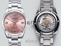 Édition Limitée 2018 Grand Seiko Pink Champagne Sbga371 Watch 1/500 Pieces Jdm