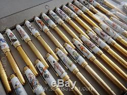 Edition Limitée Annuelle Montblanc The Complete Collection 2003 2012 30 Pièces