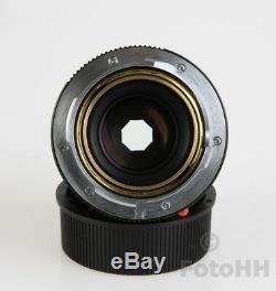 Édition Limitée Leica Summicron-m Drapeau Néerlandais 12 / 50mm Seulement 5 Pièces