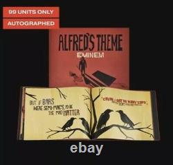 Eminem Alfred Theme Lyric Book Autographied Limited Edition 99 Pièces! Vendu