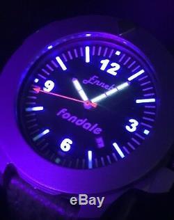 Ennebi Fondale 9601 Titanium 47mm Limited Edition 30 Pièces 1000m Swiss Unitas