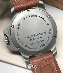 Ennebi Fondale 9660 Titanium Edition Limitée 300 Pièces 1000m Diver Automatic