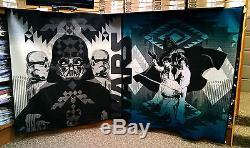 Ensemble De 4 Couvertures En Édition Limitée De Couvertures Pendleton De Star Wars, Laine Vierge Jedi