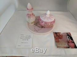 Fenton 5 Piece Rosalene Dresser / Vanity Set 5 Piece 2004 2905eb Mib