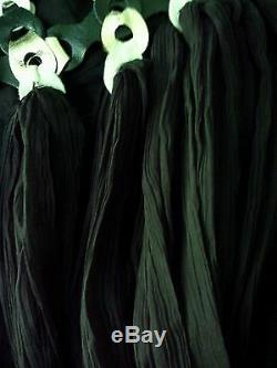 Free People Robe Longue Moulante En Cuir De Jill Limited Edition Noir Taille 2