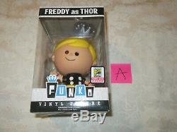 Funko Freddy En Tant Que Thor 2015 Édition Limitée Exclusive Sdcc 144 Pcs A