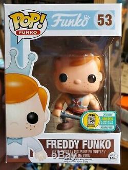 Funko Freddy He-man Pop Dimanches Sdcc 2016 Limited Edition 400 Pièces # 53 Motu