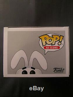 Funko Pop Ad Icônes Trix Lapin 10 Floqués Limited Edition 3500 Pièces