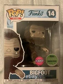 Funko Pop Bigfoot Brown Flocked Eccc 2018 Limited Edition 3000 Pièce