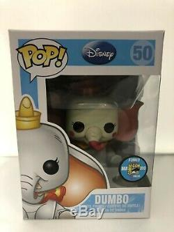 Funko Pop! Disney Clown Dumbo Sdcc Exclusive # 50 48 Pièces Limited Edition