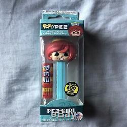 Funko Pop! Distributeur De Bonbons Pez Girl Red Hair, 600 Pièces, Édition Limitée