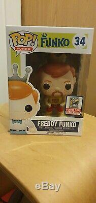 Funko Pop Freddy Funko Hulk Hogan Wwe Édition Limitée De 500 Pièces