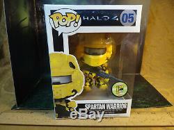 Funko Pop Halo Spartan Guerrier # 05 Jaune Sdcc 2013 Limited Edition 480 Pièces