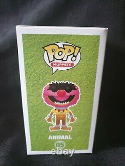 Funko Pop! Muppets! Animal #05 Metallic Sdcc 2013 Ltd Ed 480 Pièces. Graal Rare