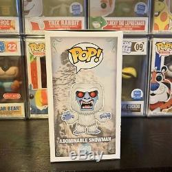 Funko Pop! Nycc 2017 Flocked Abominable Snowman Edition Limitée 1000 Pièces Vf +