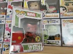 Funko Pop! Sdcc 2013 Metallic Red Hulk # 31 Limited Edition 480 Pièces