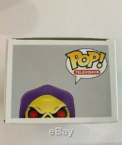 Funko Pop Tv Motu Master Universe Skeletor Gemini Exclusif Glow Ltd 480 Pièces