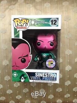 Funko Pop Vinyle Sinestro Sdcc Ltd 480 Pièces