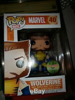 Funko Pop, Wolverine Non Masqué, Toytastik Exclusive, Ltd À 1500 Pièces