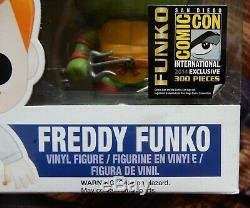 Funko Raphael Freddy, Édition Limitée À 300 Pièces De Sdcc 2014, Tortue Tmnt