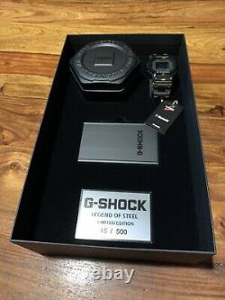 G-shock Gmw-b5000gdltd-1er Legend Of Steel Limited Edition, 500 Pièces Dans Le Monde