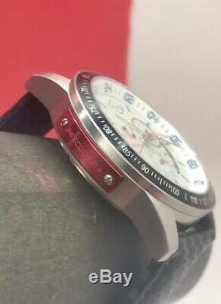 Gevril Gv2 Scuderia Limited Edition Quartz Suisse Gmt 500 Pièces 45mm En Acier