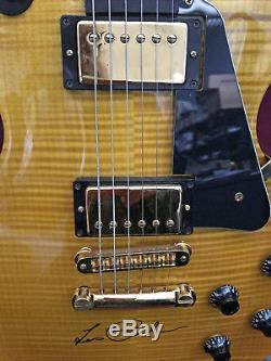 Gibson Les Paul 1992 Signature Guitare Flametop Edition Limitée De 30 Pièces