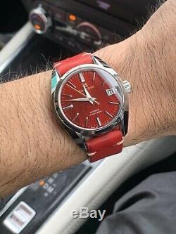 Grand Seiko Sbgh269 Automne Rouge Limited Edition De 900 Pièces