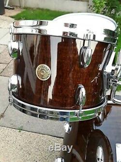 Gretsch Les Etats-unis 4 Kit Tambour Piece Ltd Édition Couleur Antique Érable Ondé