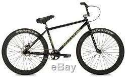 Growler Est 26 Ltd Vélo Bmx Vélo 3 Pièces Manivelle Chromo Cadre 2020 Noir