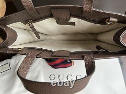 Gucci Bosco Gg Supreme Limited Edition Unisex Patch Tote Schultertasche Neu