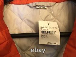 Gucci Veste Neuve Avec Nordstrom Tag Mens XL $2,200 Retail Sz 48 Rare Pièce De Mode