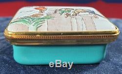 Halcyon Days Beatrix Potter Très Rare Box Limited Edition 8/50 Pièces