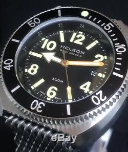 Helson Buccaneer Edition Limitée 100 Pièces 45mm Swiss Eta Automatic 500m Diver