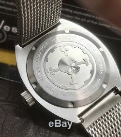 Helson Buccaneer Gmt Limited Edition 100 Pièces 45mm 500 Swiss Eta Automatique