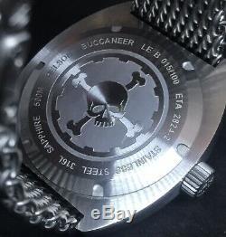 Helson Buccaneer Limited Edition 100 Pièces 45mm Swiss Eta Automatique Diver 500m