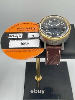 Helson Gauge 1ère Édition 25 Pièces 3500m Diver Titanium Bronze Swiss Automatic